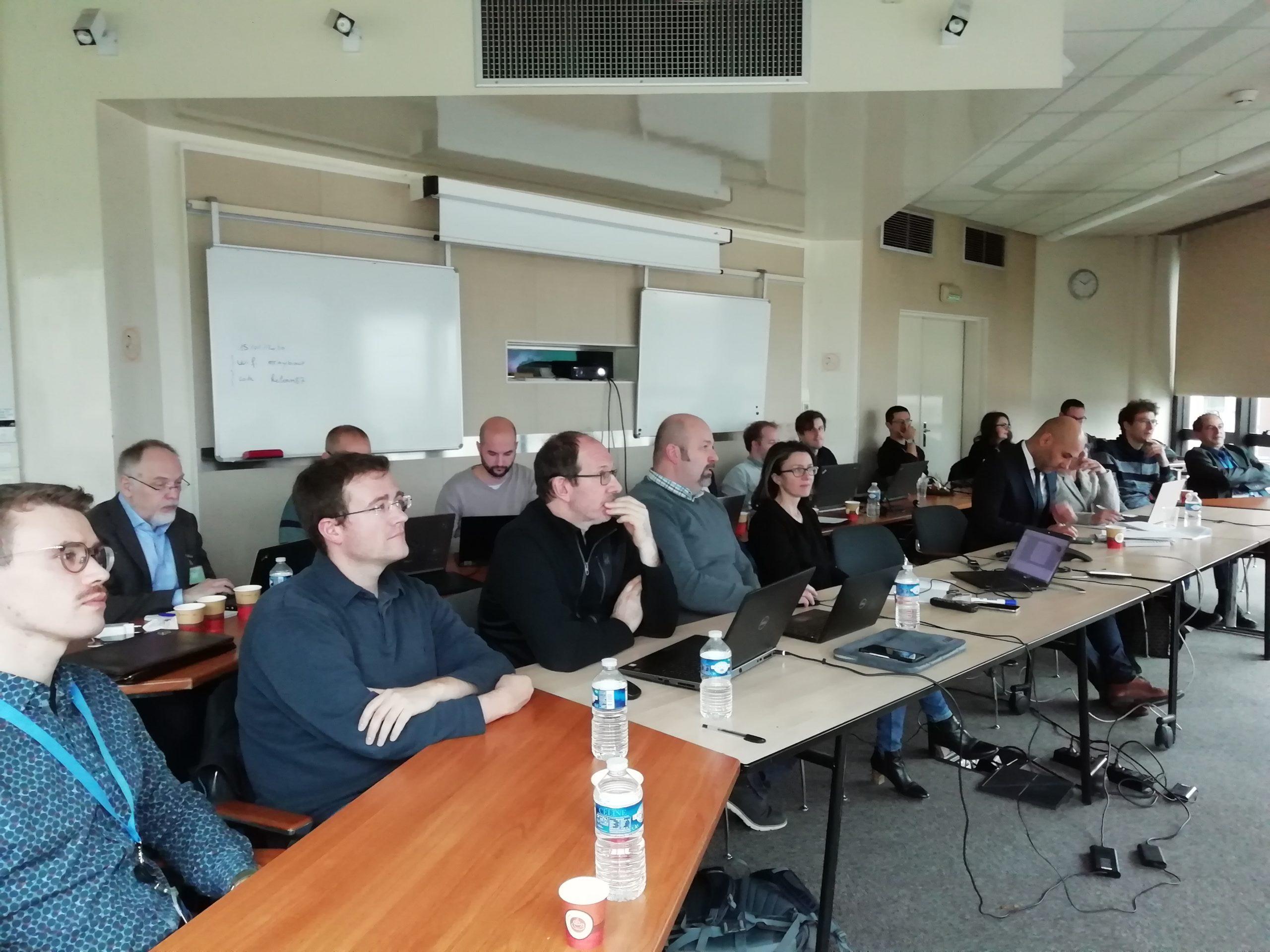 LEMON consortium at the EC review meeting