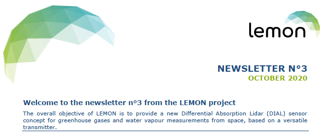 LEMON Newsletter 3